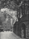 A quiet corner in Westminster, Great College Street. E.O. HOPPÉ. London 1930